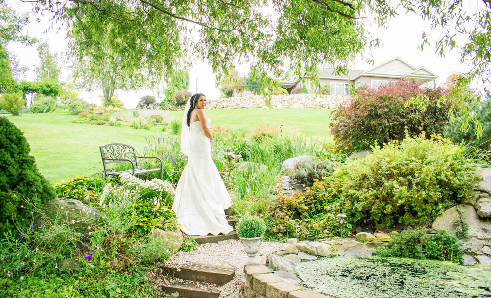 Bride Sneak Peek Fairy Tale Michigan Wedding The Barn at Monterey Valley Allegan, MI