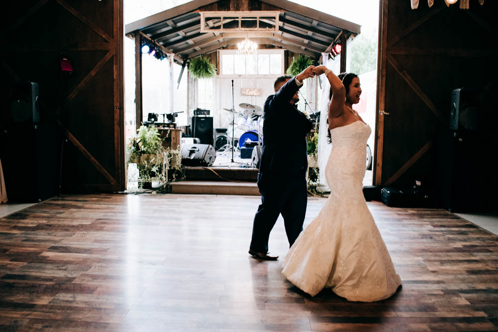 Grand Rapids Wedding with a beautiful reception at the Barn at Monterey Valley in Allegan, Mi.